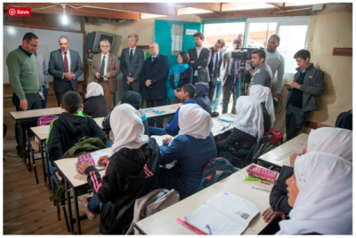 EU Heads of Mission in Jerusalem and Ramallah visit Palestinian community in Area C facing threat of demolition
