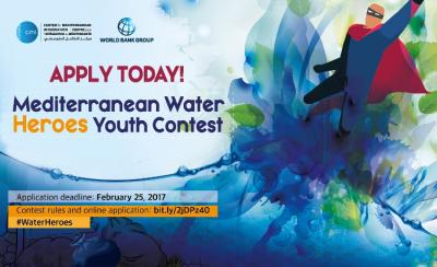 Calling for Young Mediterranean Water Heroes: apply now for youth contest