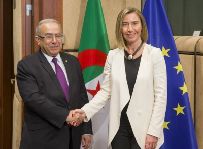 Mogherini and Algerian foreign minister
