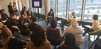 Young Med Voices meeting with Mogherini