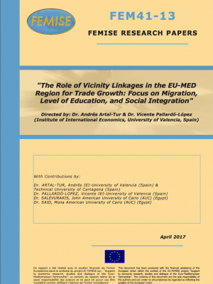 The role of vicinity linkages in the Euro-Med region for trade growth