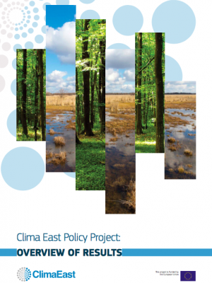 Clima East Policy Project: overview of results