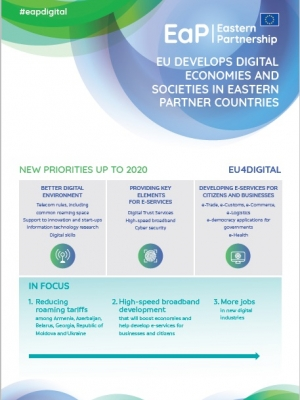 EU develops digital economies and societies in Eastern Partner countries