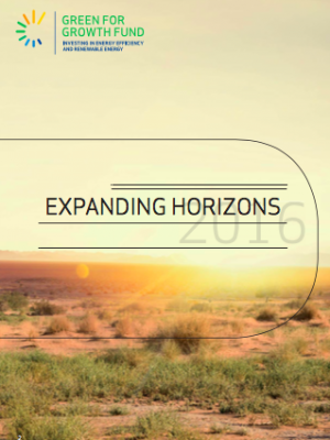 "Green for Growth Fund Annual Report 2016 ""Expanding horizons"""