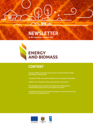 Energy and Biomass in Moldova, Newsletter No 35