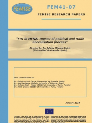 FEMISE Research Paper – FDI in MENA: Impact of political and trade liberalisation process