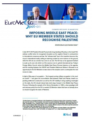 Imposing Middle East Peace : Why EU Member States should recognise Palestine