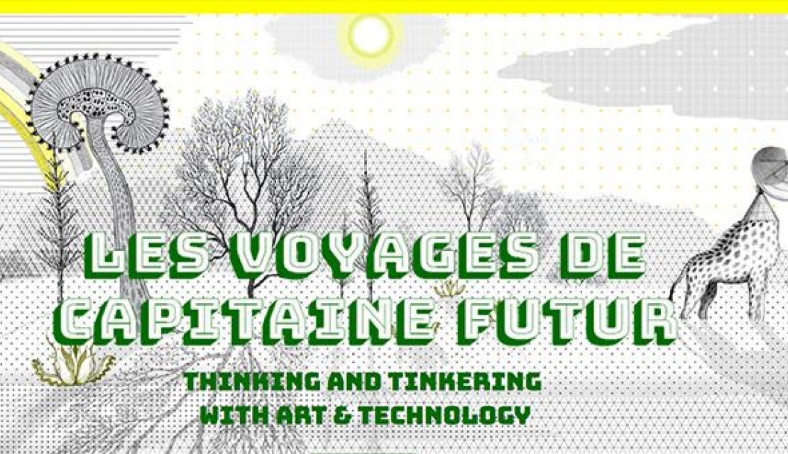 Les voyages de Capitaine Futur: seeking exhibition projects mixing media and art
