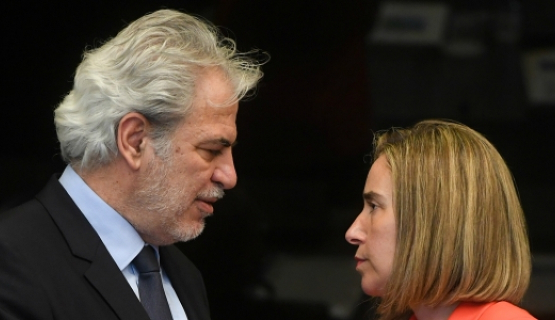 Commissioner Christos Stylianides and the High Representative/Vice President Federica Mogherini
