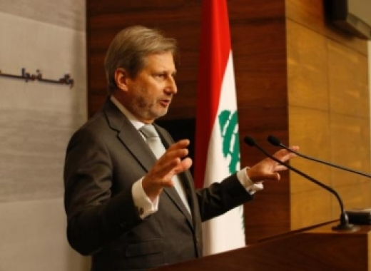 Commissioner Hahn in Lebanon