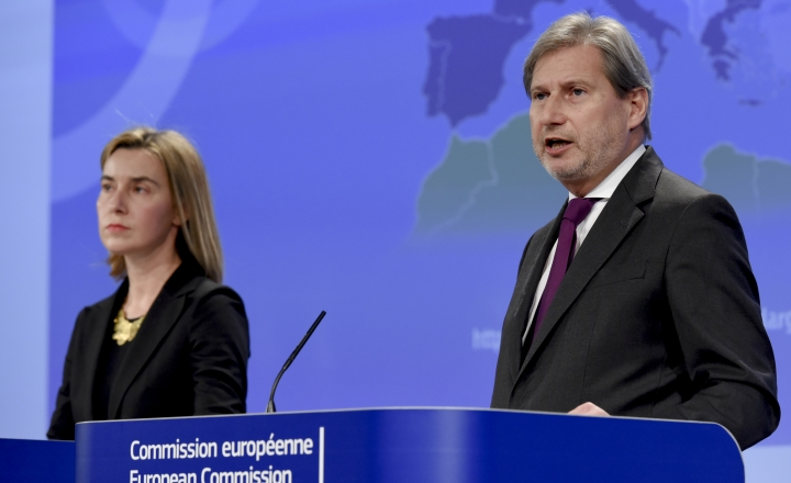 Mogherini and Hahn