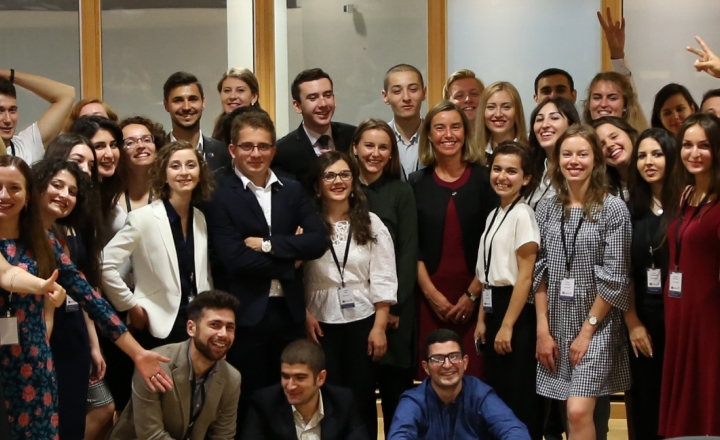 Young European Ambassadors meet up in Brussels
