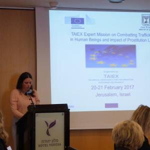 Israel hosts EU expert mission on combatting trafficking in human beings and impact of prostitution legislation