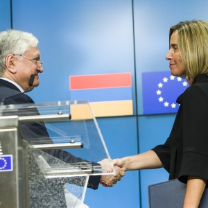 """The EU is willing to expand and deepen cooperation with Armenia,"" says Mogherini"