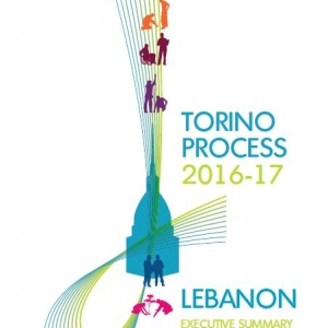 Executive Summary of the Torino Process 2016-17 Lebanon report cover page