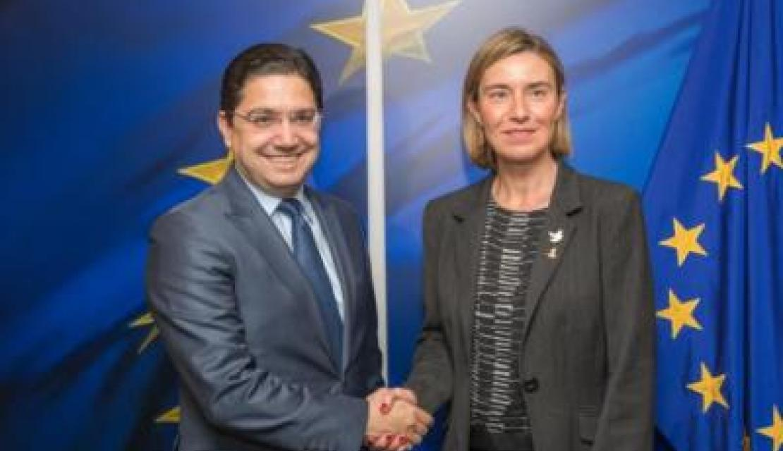 Mogherini and Moroccan Deputy Minister