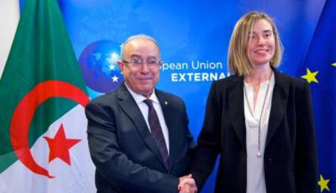 Algerian Foreign Minister in Brussels talks with Mogherini