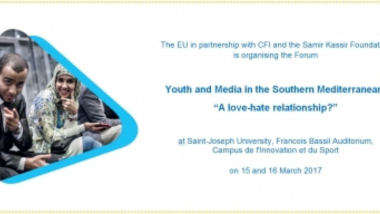 Youth and Media Forum