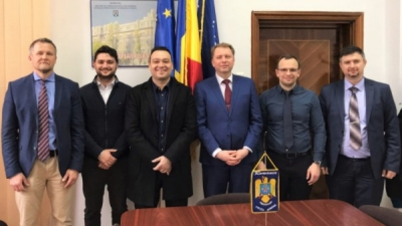Ukraine: top police IT managers visit Romania to support development of Intelligence-Led Policing