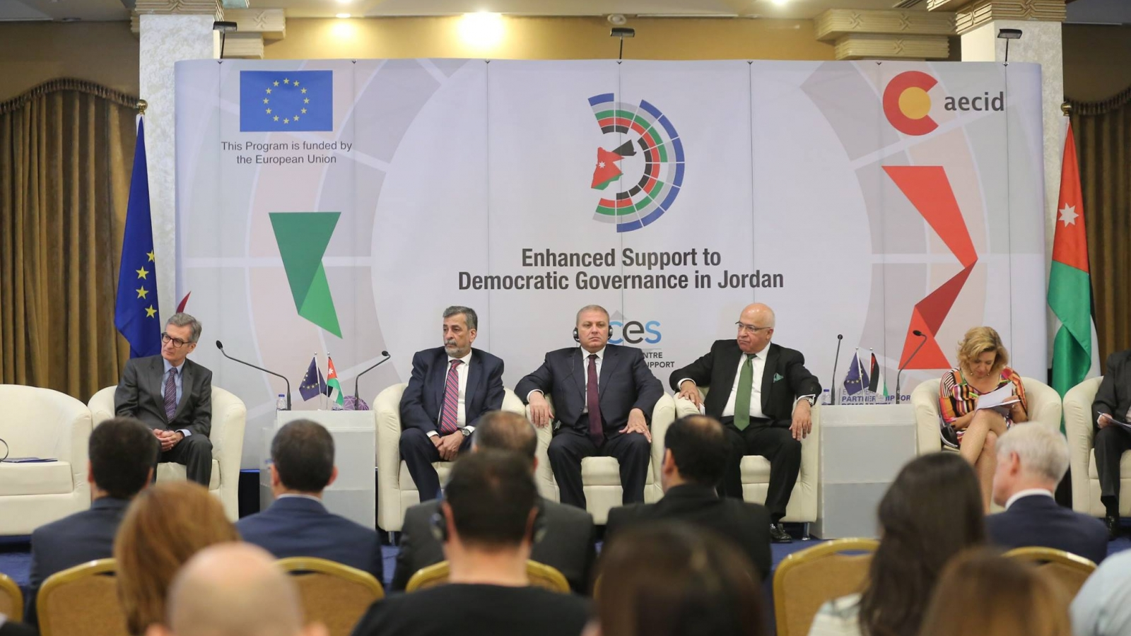 "Launch of the new programme ""Enhanced Support to Democratic Governance in Jordan"""