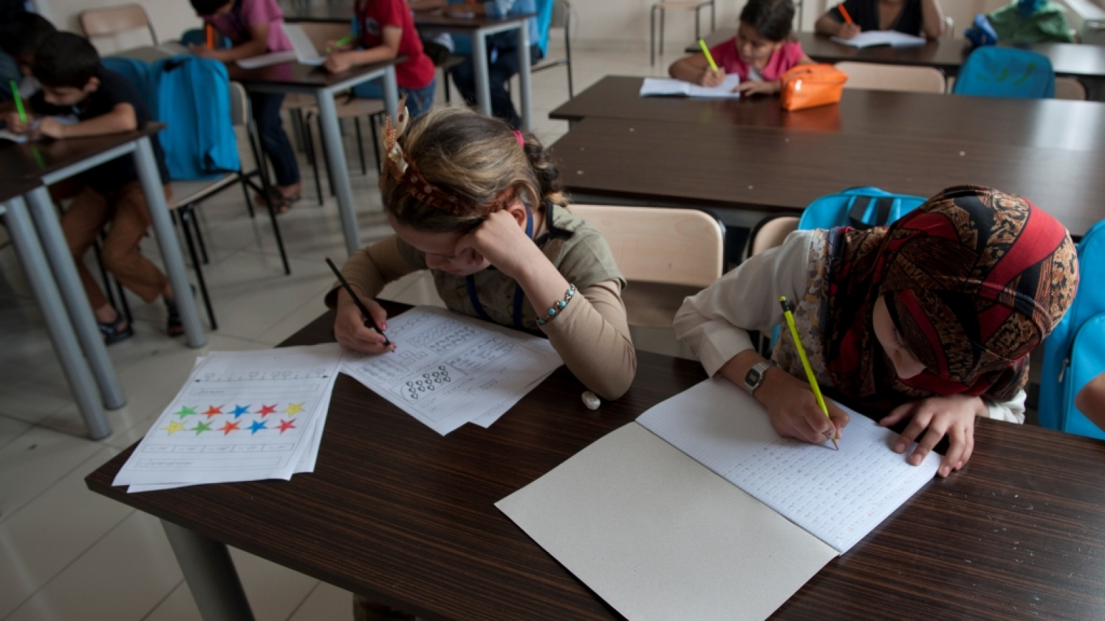 EU support to Education in Syria