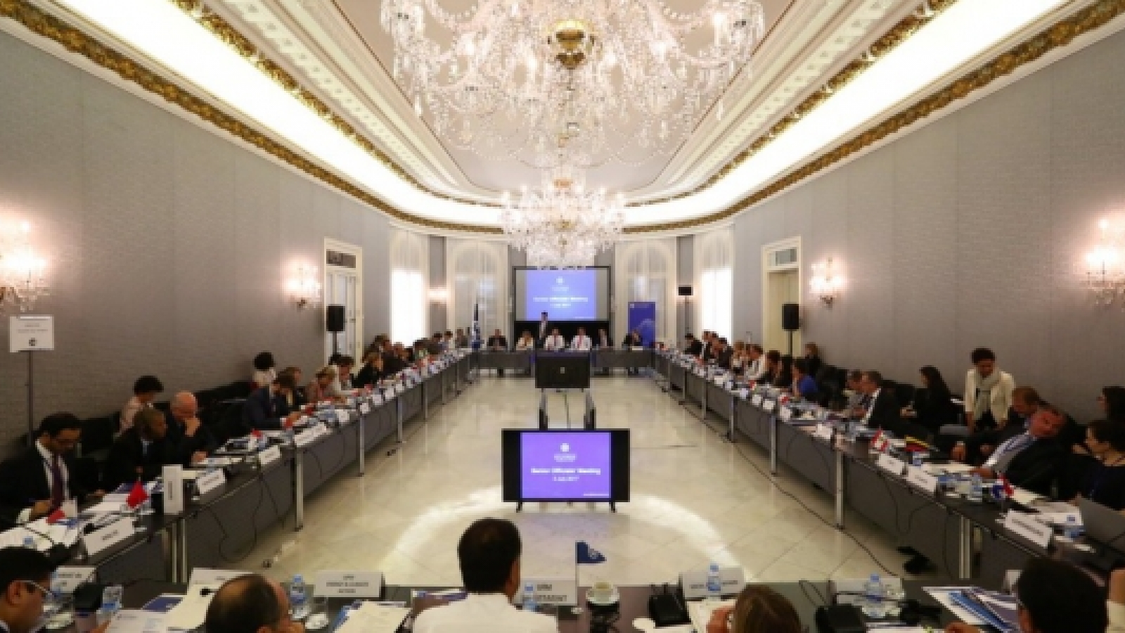 Discussing new initiatives to advance Euro-Mediterranean cooperation: UfM Senior Officials meet in Barcelona