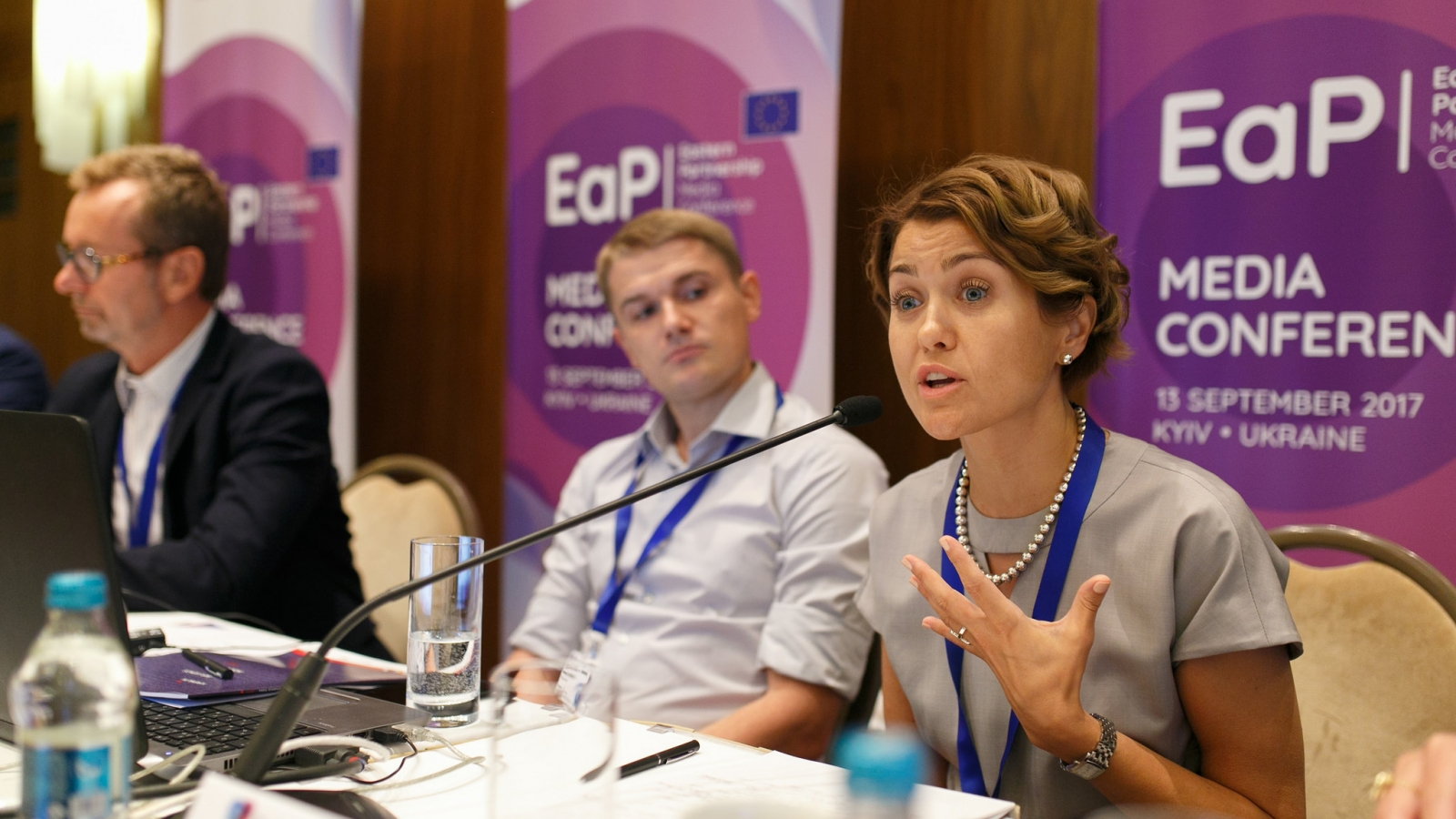Challenges for independent media in EaP countries were discussed at the conference in Kyiv on 12-13 September 2017