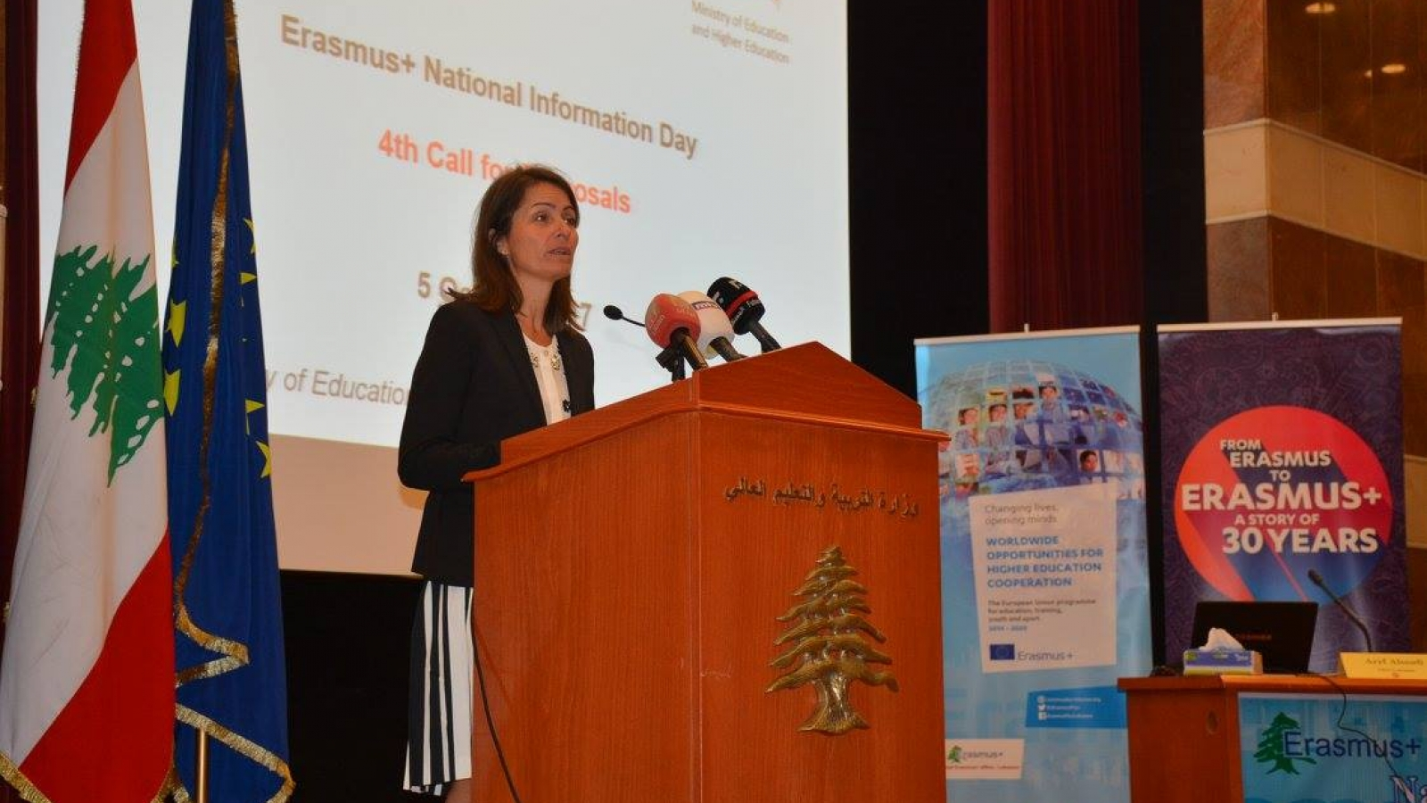 Erasmus annual Information Day in Lebanon