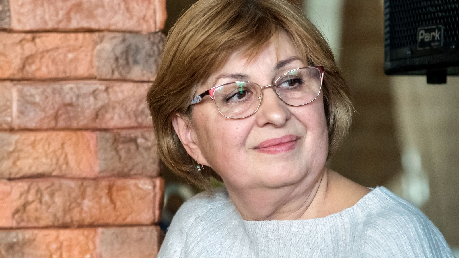 Lyudmyla Gallina, Chairman of the association of co-owners of an apartment building that was insulated in Zhytomyr