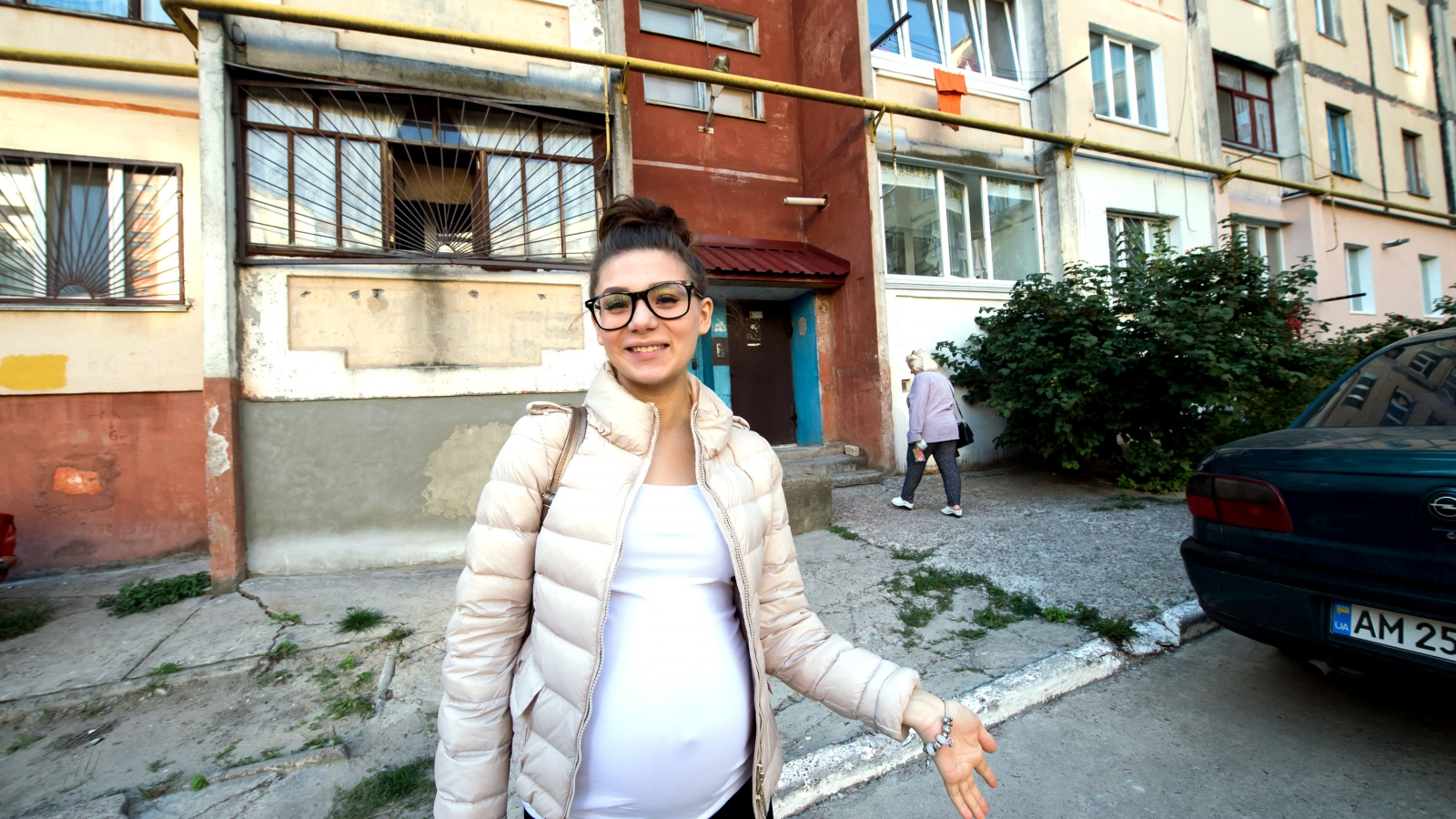 Kateryna lives in an energy efficient apartment building in Zhytomyr