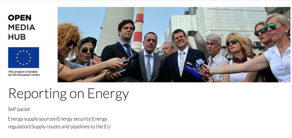 Open Media Hub - Reporting on Energy