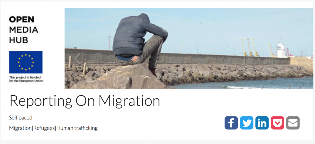 Open Media Hub - Reporting on Migration banner