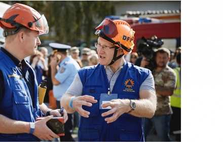 Earthquake, chemical leak, floods… EU MOLDEX 2017 exercise brings together rescue teams from nine countries