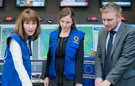The Emergency Response Coordination Centre in Brussels