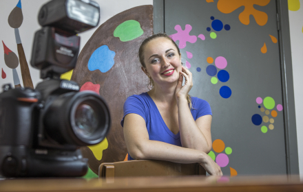 From machine engineer to photographer: EU4Youth makes a dream come true in eastern Ukraine