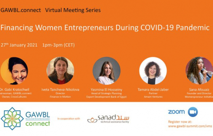 EU-funded SANAD launches virtual meeting series to empower women entrepreneurs during COVID-19