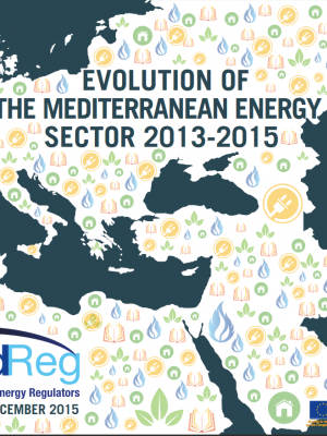Cover of Evolution of the mediterranean energy sector 2013-2015