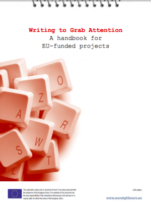 Writing to Grab Attention, a handbook for EU-funded projects