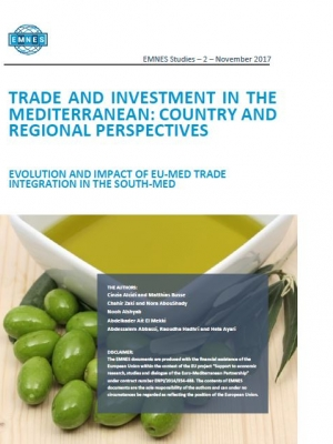 EMNES study: Trade flows and the impact of EU-Med trade and investment agreements on Euro-Med countries