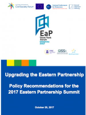 Upgrading the Eastern Partnership: Policy Recommendations for the 2017 Eastern Partnership Summit