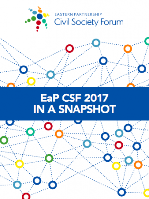 EaP CSF 2017 in a snapshot