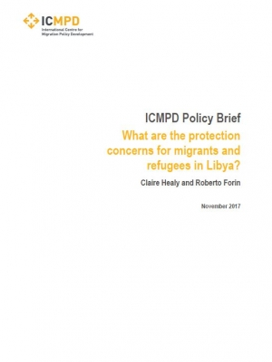 ICMPD Policy Brief - What are the protection concerns for migrants and refugees in Libya?