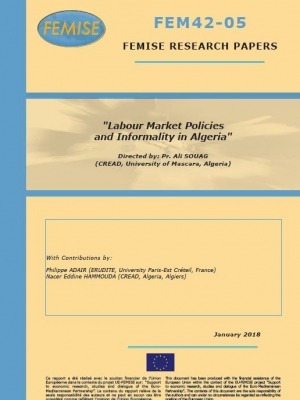FEMISE research paper : Labour market policies and informality in Algeria