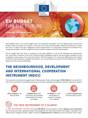 Factsheet – EU Budget for the future