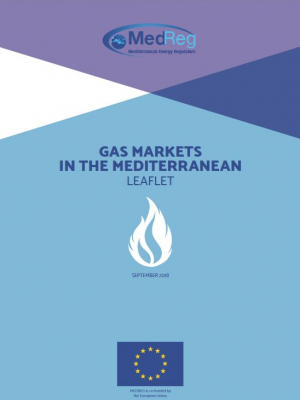 MEDREG leaflet: Gas markets in the Mediterranean