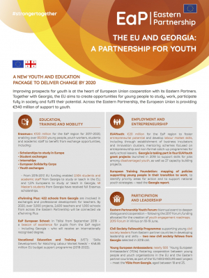 The EU and Georgia: a partnership for youth