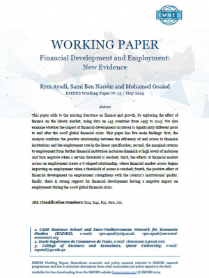 EMNES Working Paper 25 – Financial development and employment: new evidence