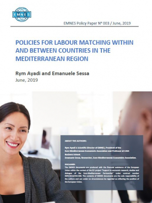 EMNES Policy Paper 003 : Policies for labour matching within and between countries in the Mediterranean region