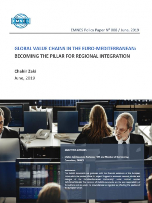 EMNES Policy Paper 008 – Global Value Chains in the euro-Mediterranean: Becoming the pillar for regional integration