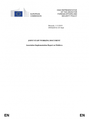 Association Implementation Report on Moldova